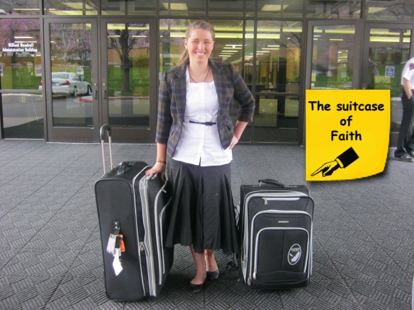 The suitcase of Faith